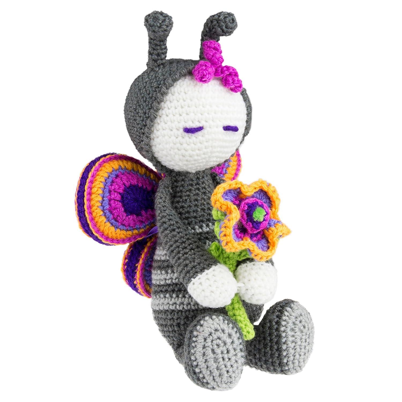Craft To Go Crochet Kit - Butterfly Fairy Bartim