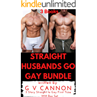 Straight Husbands Go Gay Bundle: 3 Story Straight to Gay First Time MM Box Set