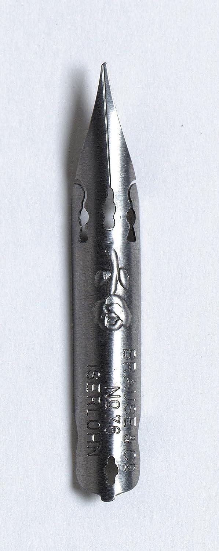 Brause 76B Scatola da 10 Pennini, 9 x 5.6 x 2.2 cm Exacompta