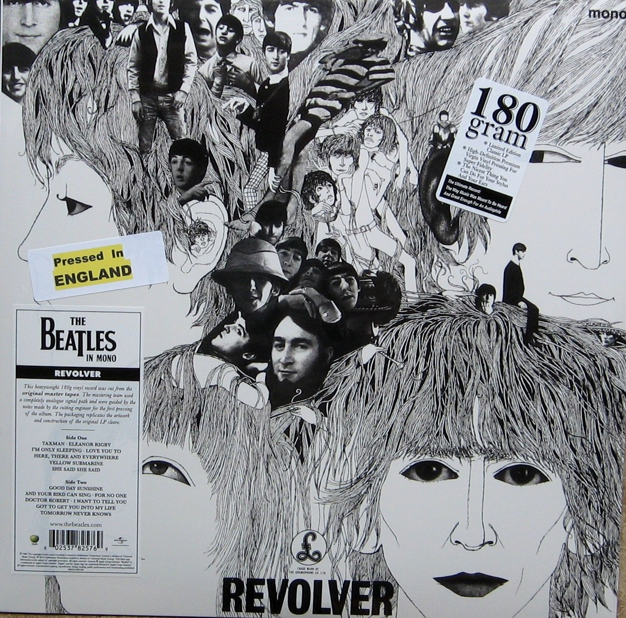The Beatles - Revolver [Remastered] [LP] (Vinyl/LP) Deluxe Edition,  Original recording remastered