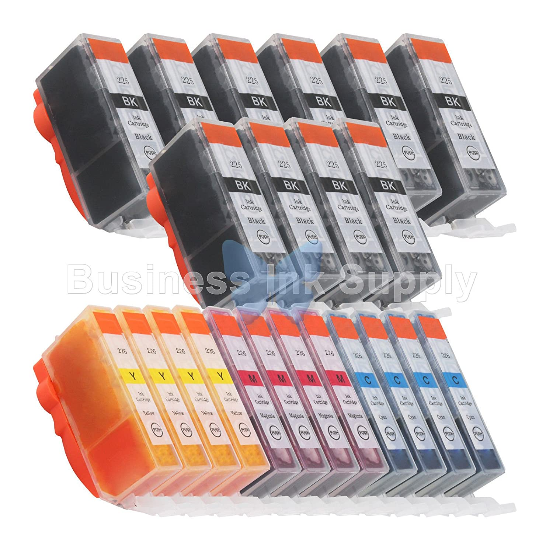 DS 22パックpgi-225 cli-226のインクCanonプリンタPixma ix6520 mg6120 mg812010pgi B06XZWX6HZ