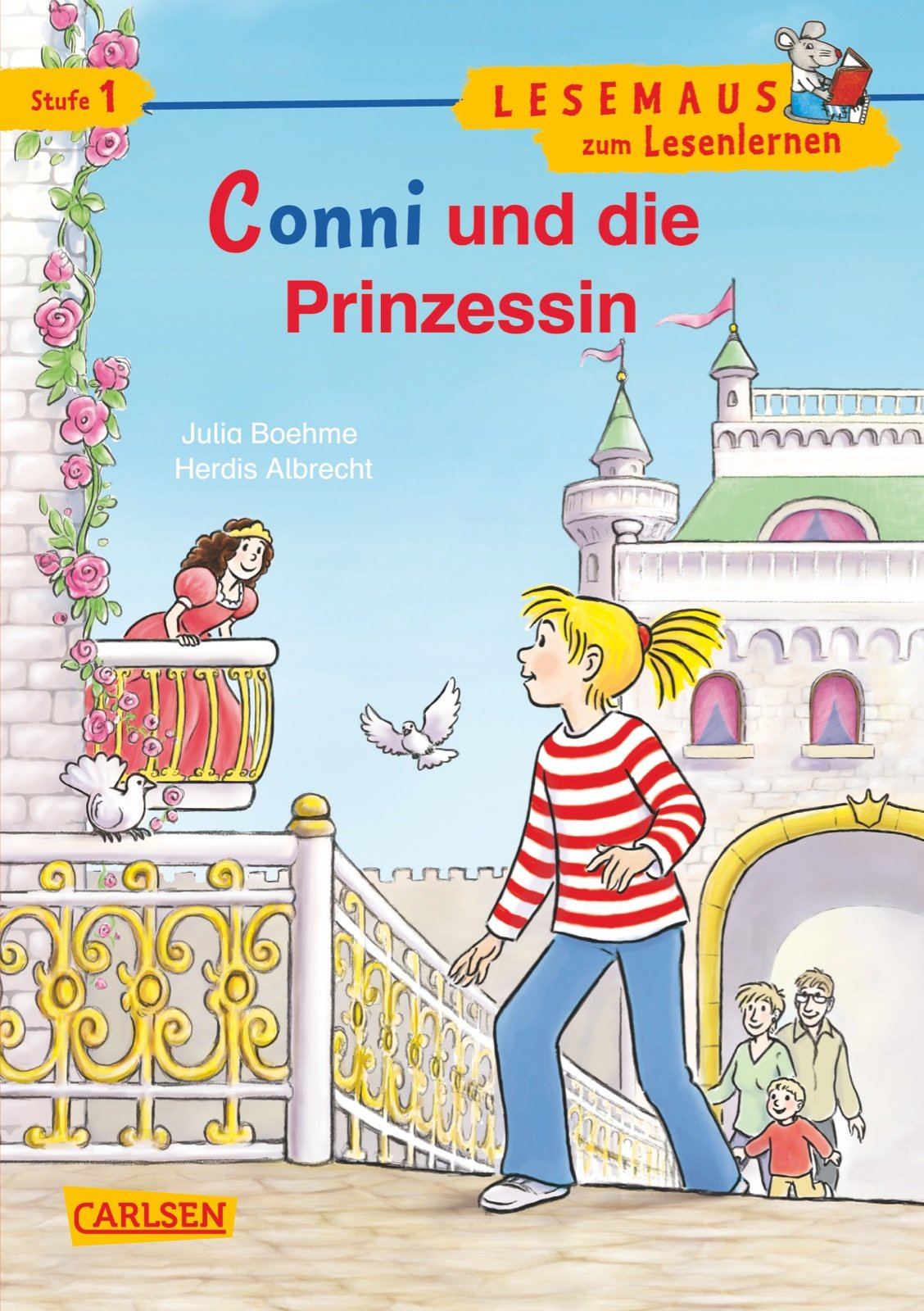 LESEMAUS zum Lesenlernen Stufe 1: Conni und die Prinzessin