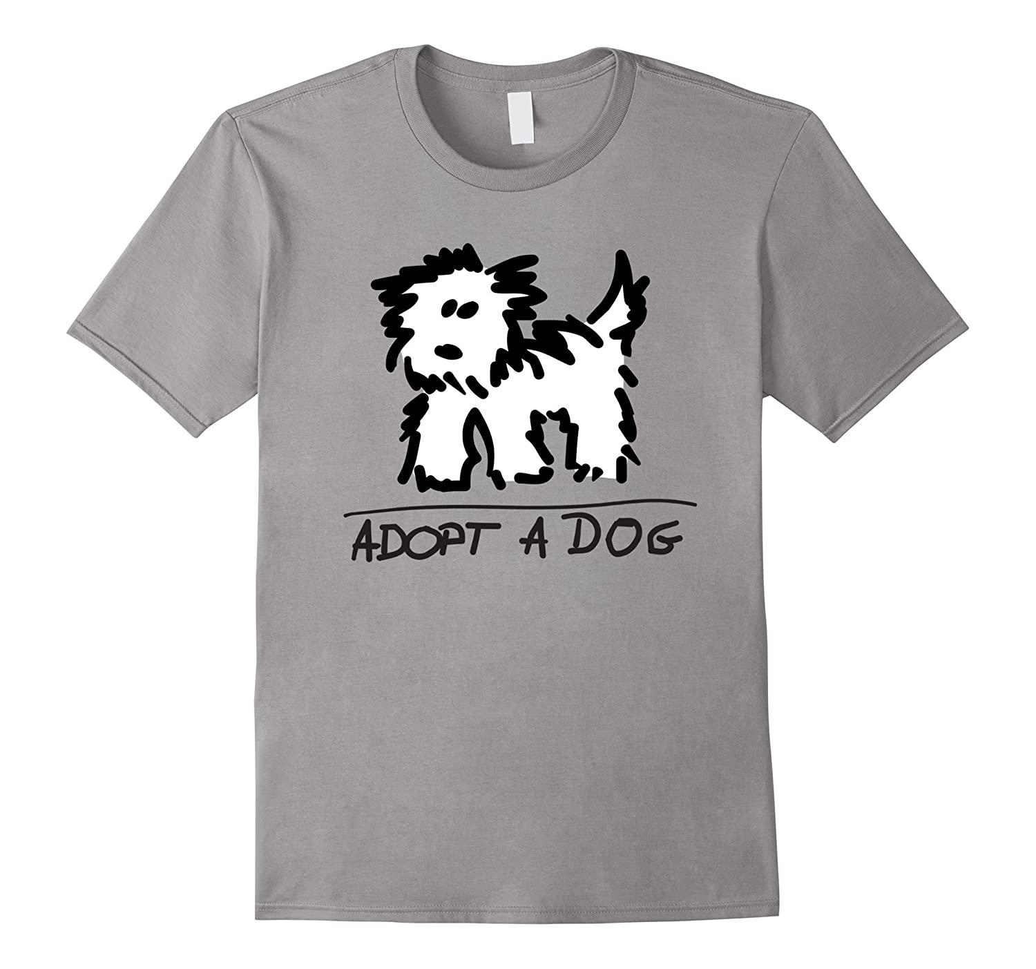 Adopt A Dog T-shirt | Dog Rescue | Animal Lover Shirt-TH