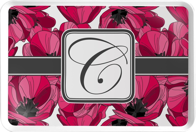 Bandeja para servir, diseño de tulipanes (personalizado): Amazon.es: Hogar