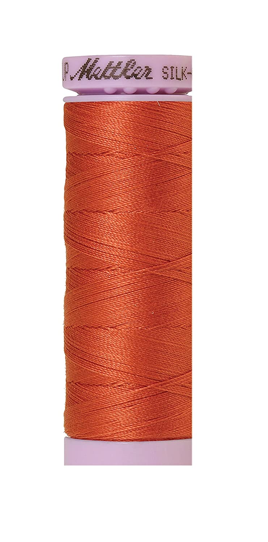 Mettler Silk-Finish Solid Cotton Thread, 164 yd/150m, Reddish Ocher by Mettler   B00PKJI134