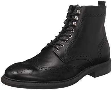 BATA 8946729, Bottes de Motard Homme - Noir - Nero (Nero), 43 EU