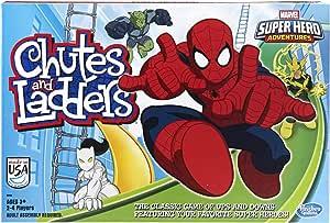 Hasbro Marvel Spider-Man Web Warriors Chutes & Ladders Game
