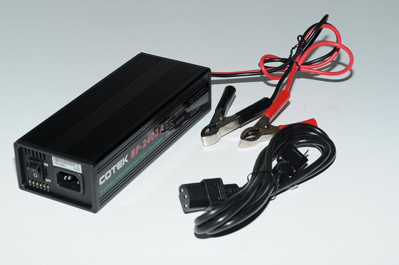 COTEK BP-1210A 12 VOLT 10 AMP 3 STAGE BATTERY CHARGER