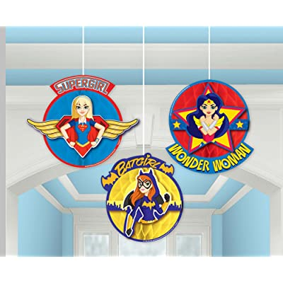 amscan Honeycomb Decoration | DC Super Hero Girls Collection | Party Accessory: Toys & Games