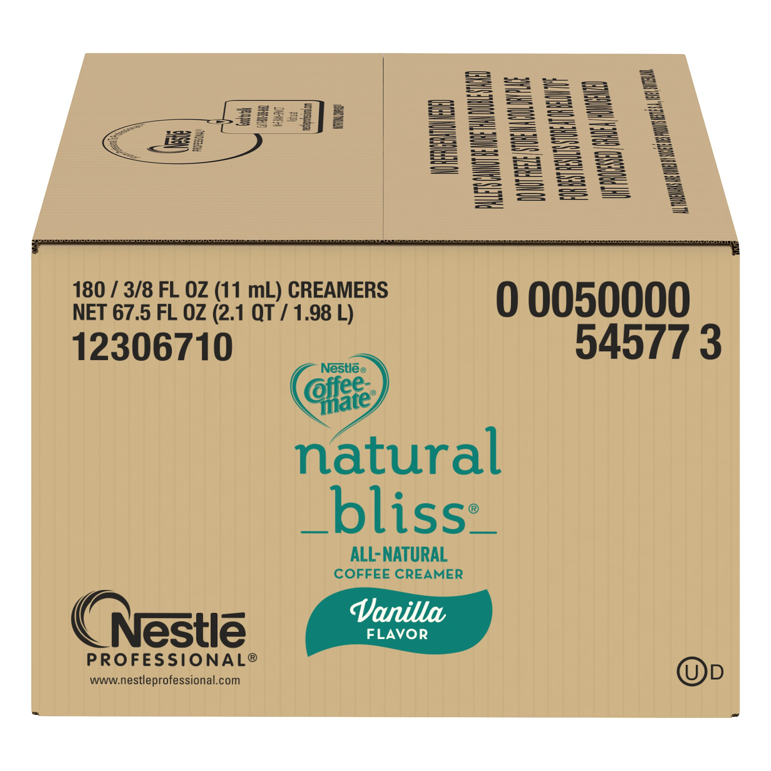 Nestle Coffee-mate Coffee Creamer, Natural Bliss, liquid creamer singles,180 Count (Pack of 1) by Nestle Coffee Mate (Image #6)