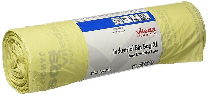 Amazon.com : Vileda 235236 - Rubbish Bag roll Industrial ...