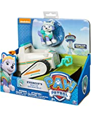 Paw Patrol 20070568-6026601 Everest's Rescue Snowmobile, Vehicle and Figure