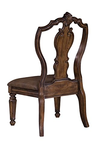 Pulaski San Mateo Carve Back Side Chair