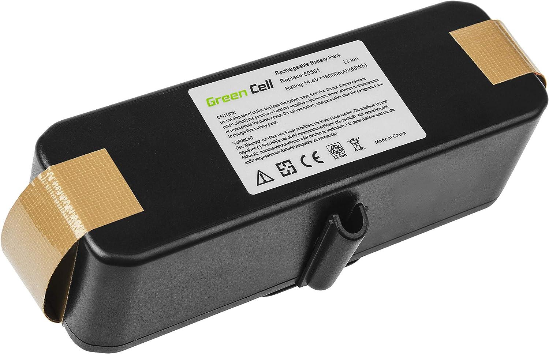 GC® (6Ah 14.4V Li-Ion Pile) Batería para iRobot Roomba 681 de ...