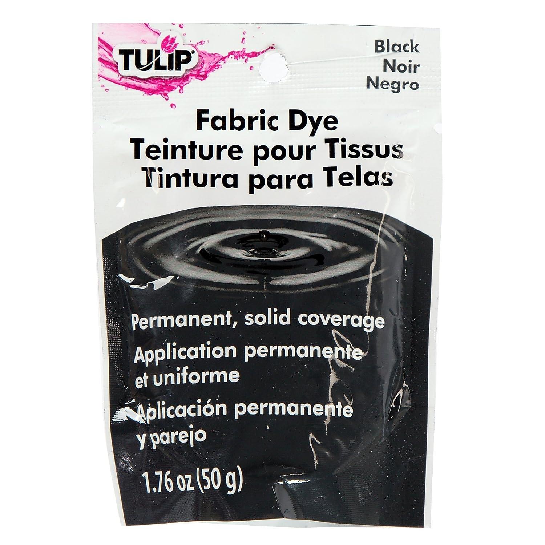 1 26588 Tulip 50g permanente macchia Pacchetto per tessuto nero Duncan Enterprises