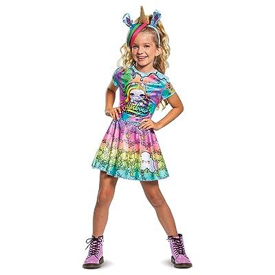 Poopsie Unicorn Rainbow Brightstar Deluxe Child Costume: Toys & Games