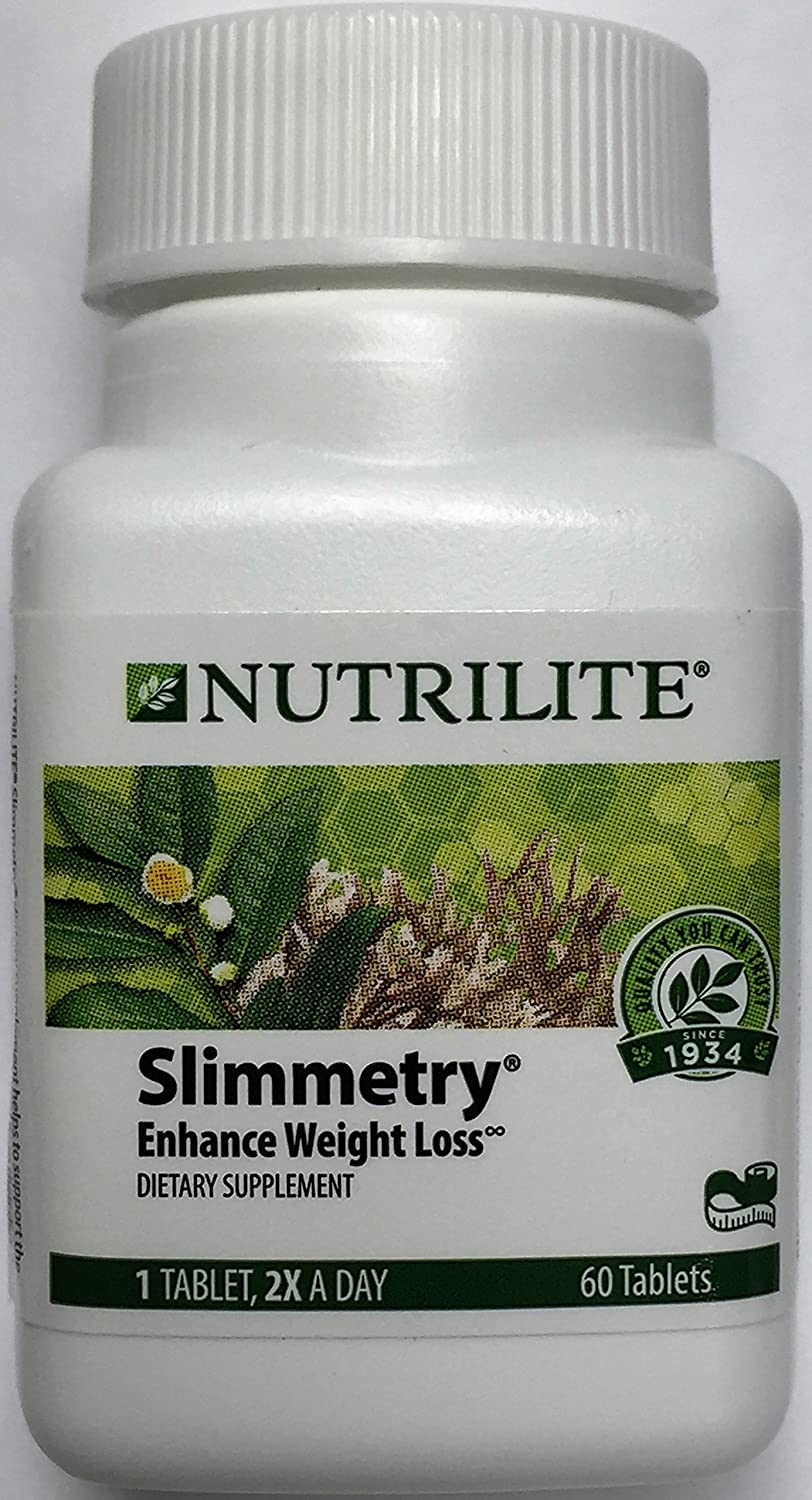 Nutrilite Slimmetry Enhance Weight Loss 60 Tablets