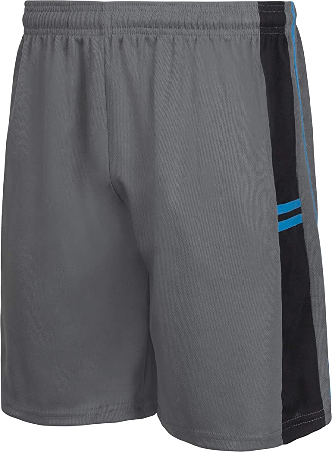 Mesh Design Activewear with Side Pockets Premium Basketball Shorts for Men