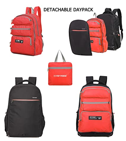 Image Unavailable. Image not available for. Color  Top Power 8061 22+20L  Convertible Carry-on Travel ... 9a080ed715b11