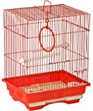 Lindo Bird Cage (Red)