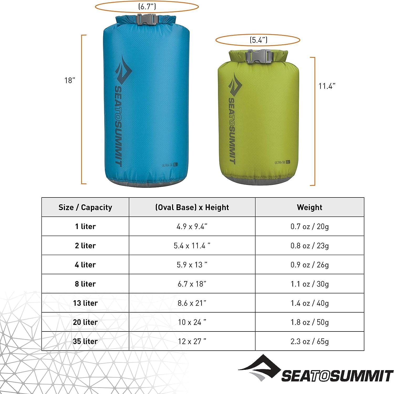 Ultra-Sil Dry Sack Sea To Summit 2L Green