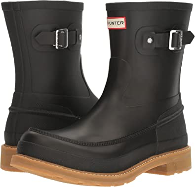 HUNTER Mens Original Lightweight Moc Toe Rain Boot