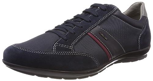 Uomo Symbol a, Zapatillas para Hombre, Azul (Navy), 40 EU Geox