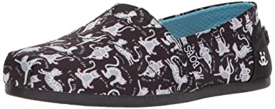 Skechers Womens Bobs Plush-Yoga Cat Ballet Flat