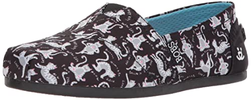 ba4f356605b1f Skechers Womens Bobs Plush - Yoga Cat Ballet Flat