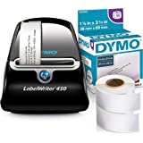 DYMO LabelWriter 450 Thermal Label Printer with 4 rolls of 350 White Mailing Address Labels
