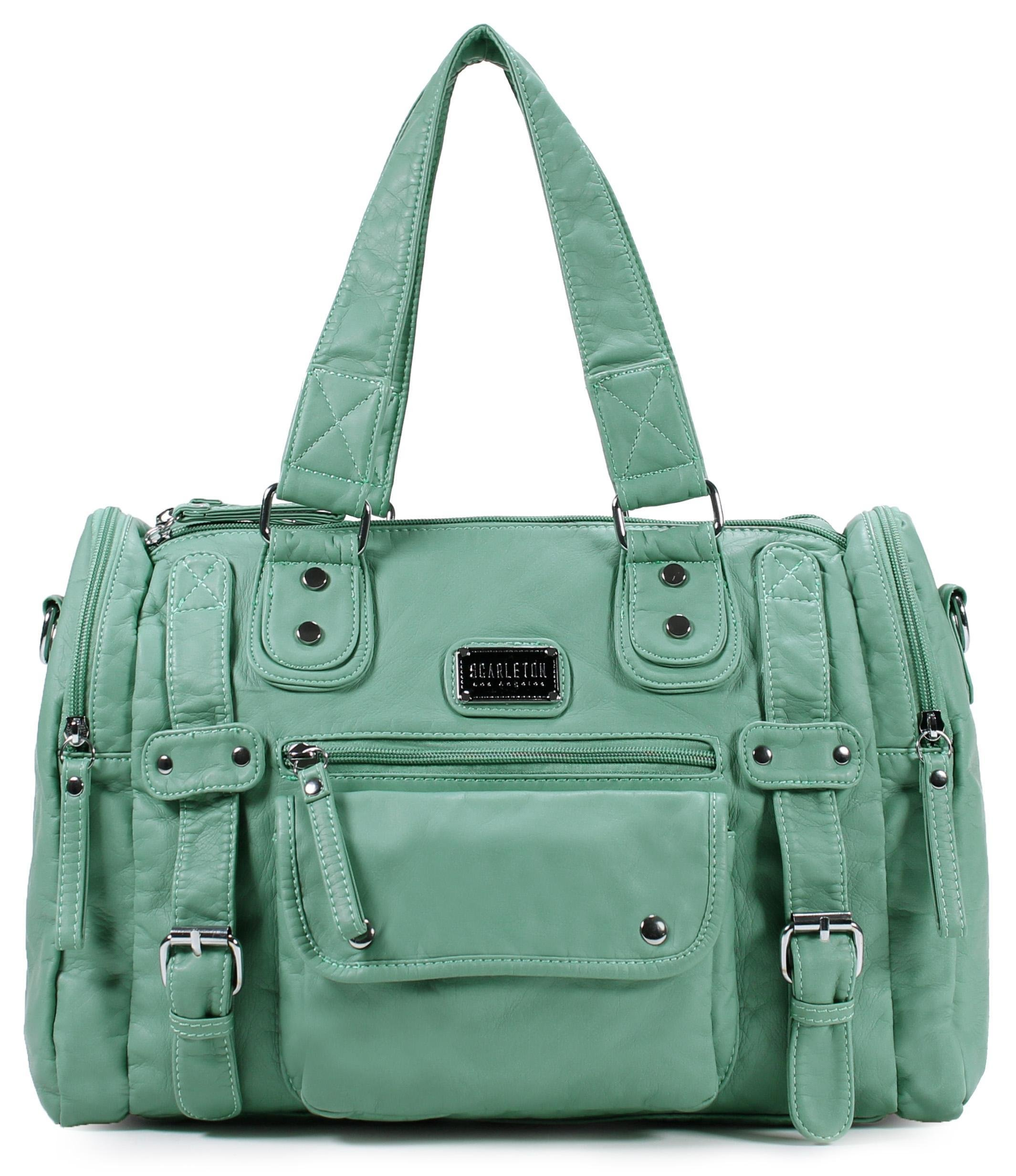 Scarleton Soft Barrel Shoulder Bag H148553 - Mint