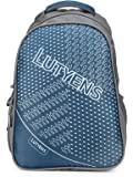 Lutyens 31 L Polyester Smart School Bag (Blue, Grey)