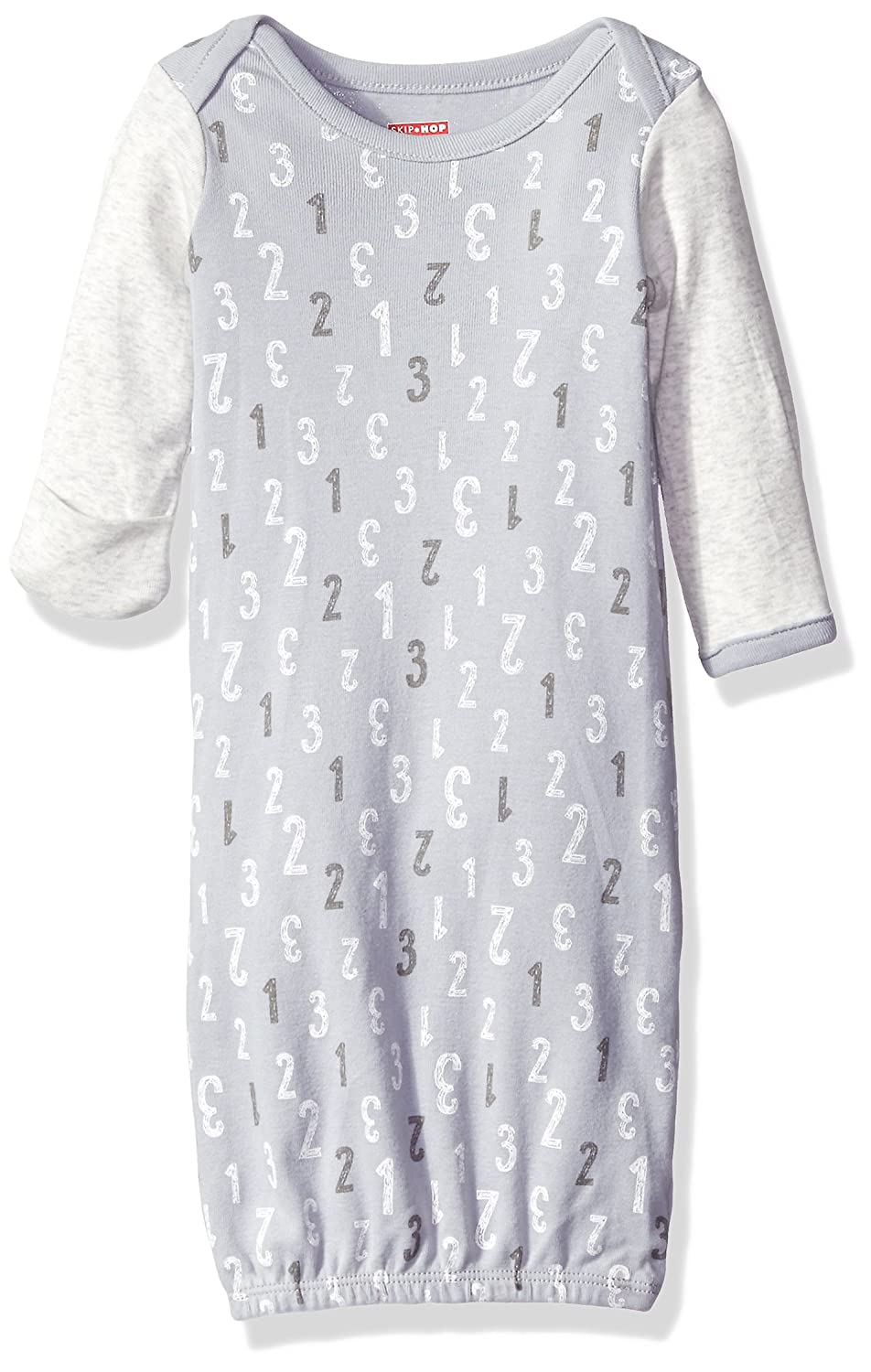 Amazon.com: Skip Hop Baby Gown, Grey, One Size: Clothing