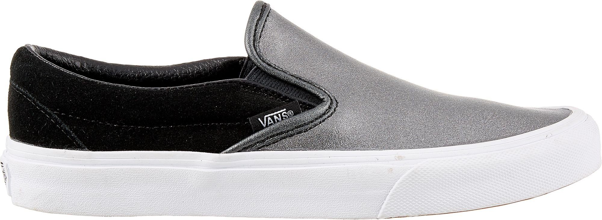 bc67bc0c2c4a Galleon - Vans Women s Classic Slip-on Seasonal Leather Trainers ...