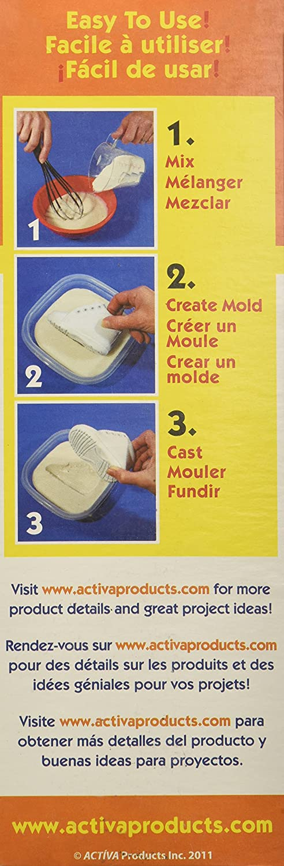 Amazon.com: Activa Instamold Temporary Mold Making Compound, 12-Ounce, White