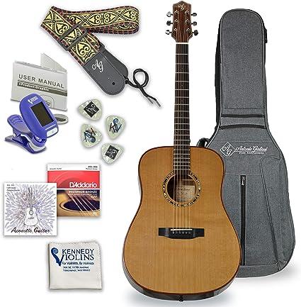 Amazon.com: Antonio Giuliani DN/6 - Guitarra de acero ...