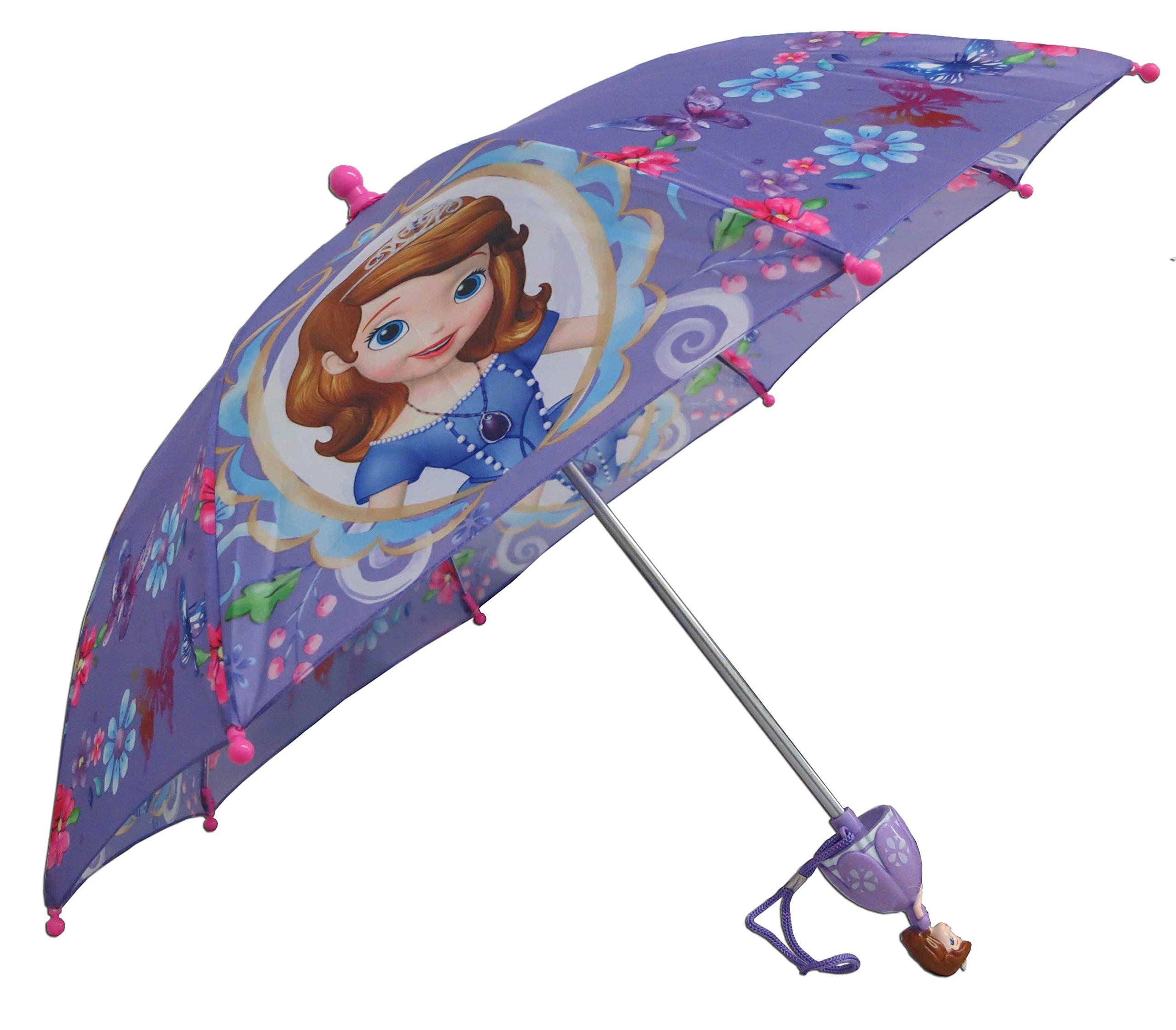 Disney Sofia the First Princess Umbrella -3D Handle