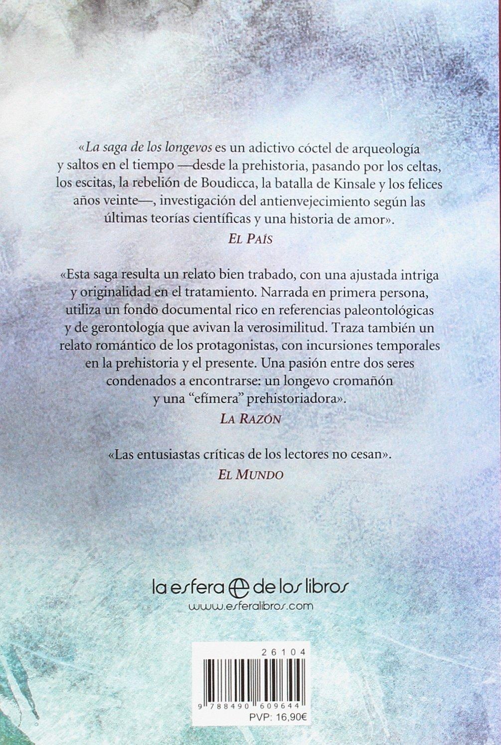 La saga de los longevos: La vieja familia: Eva Gª Sáenz de Urturi: 9788490609644: Amazon.com: Books