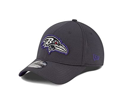9fc919acf32f4b NFL Baltimore Ravens Graph Pop Tech 2 - 39Thirty Stretch Fit Cap, Graphite,  Medium