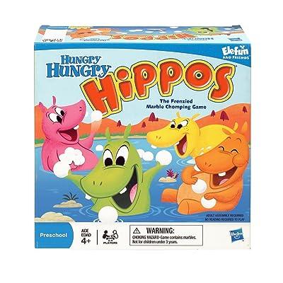 Hasbro Hungry Hippos: Toys & Games