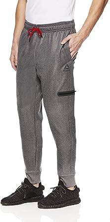 reebok men's jogger pants