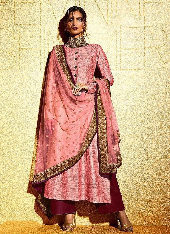 EthnicWear9 Beautiful Best Selling Hot Pink Salwar Suit