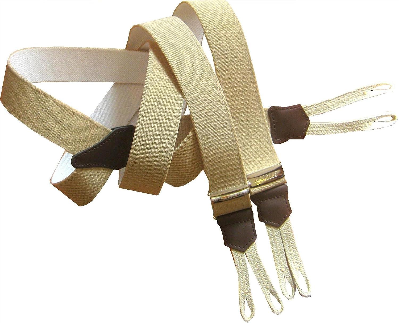 procédés de teinture minutieux Royaume-Uni disponibilité mignon pas cher Marc Vêtements Bretelles a bouton, tresse pour bouton .Fabrication française