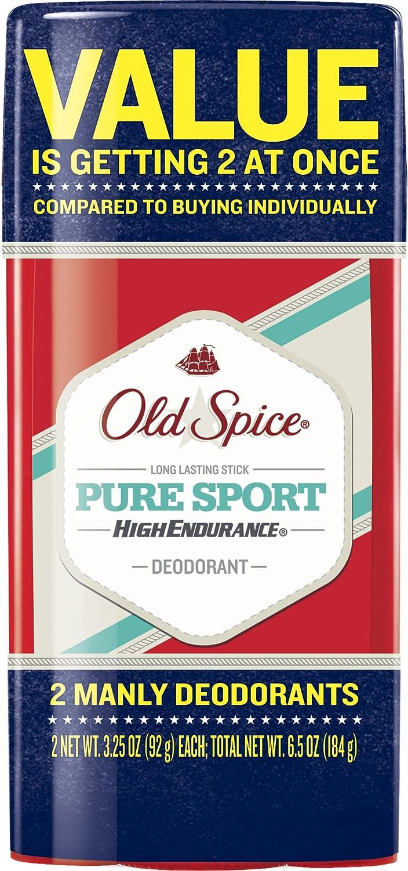 Old Spice alta resistencia puro deporte fragancia Hombre ...