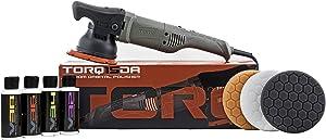 Torq BUF505X TORQ15DA 15mm Long-Throw Random Orbital Polisher Kit (8 Items)