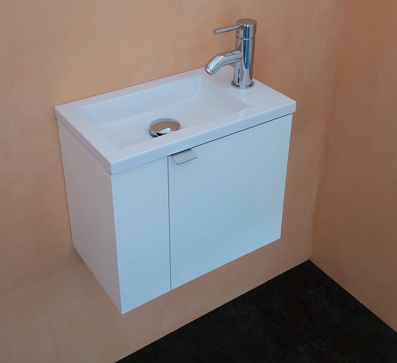 arredo bagno mobile bagno da cm 43 con lavabo/lavamani/lavandino ... - Lavandino Arredo Bagno