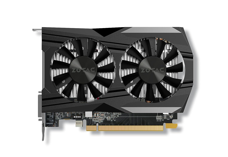 ZOTAC GeForce GTX 1050 Ti OC Edition 4GB GDDR5 Super Compact Gaming Graphics Card (ZT-P10510B-10L)