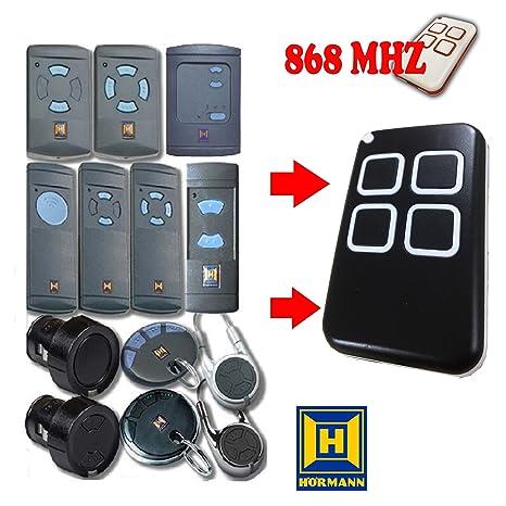 2566a2b762a Md7 telecomando per garage compatibile universale Hormann HS4 HS1 HSE2 HSM2  HSP4 HSZ1 HSZ2 Fit2 telecomandi