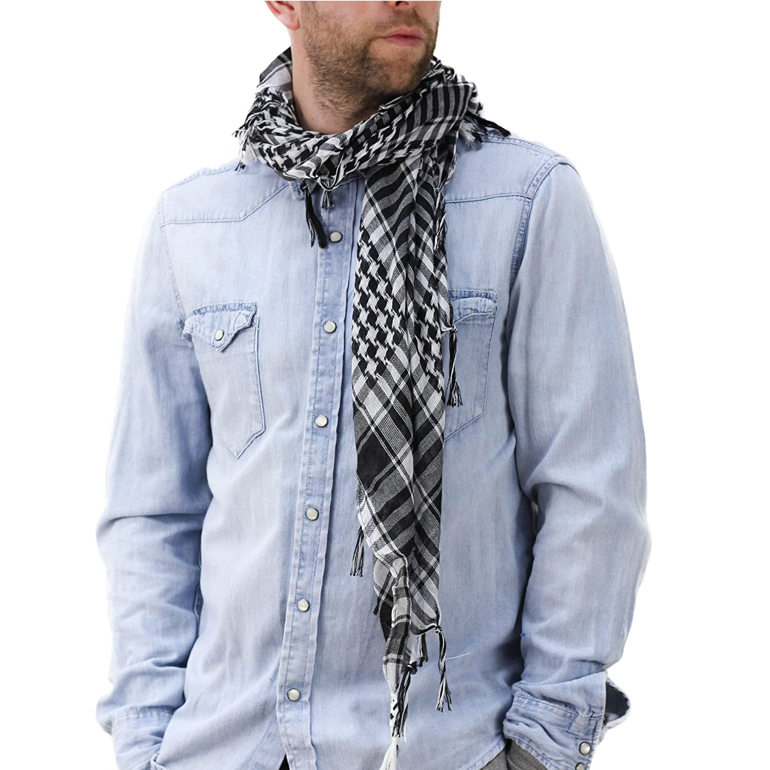 Mens Scarf Military Style Tactical Desert Shemagh