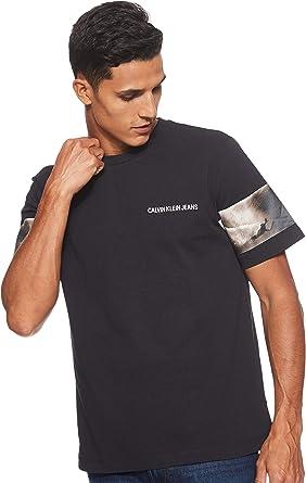 Calvin Klein Jeans J30J312759 - Camiseta para Hombre: Amazon.es: Ropa y accesorios